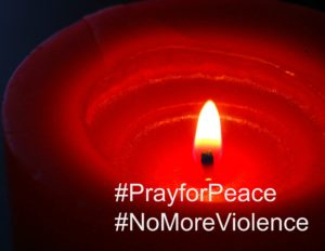 PrayforPeace candle-1069189